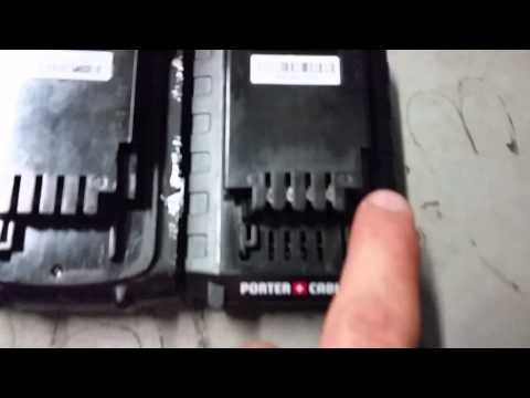 Porter Cable 20V and Black & Decker 20V Batteries are Interchangeable!
