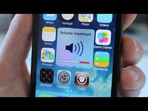 iOS 7 : Débrider le volume de son iPhone, iPod Touch ou iPad