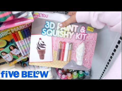 JUMBO SLOW RISING SQUISHIES, DIY SQUISHIES + $5 SQUISHY KITS AT FIVE BELOW!