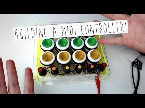 #1 - Building a MIDI controller with an Arduino (in fast forward)