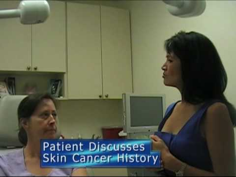 Patient Discusses History of Skin Cancer & Importance of Sunblock