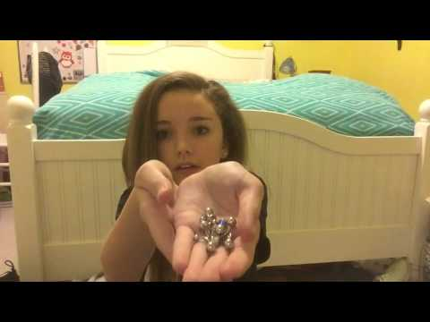 My Belly button Rings & An Update