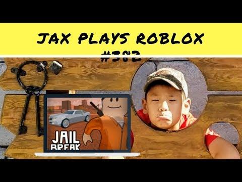 Jax Plays Roblox #75 - Jailbreak - I am soooo bad at shooting guns!