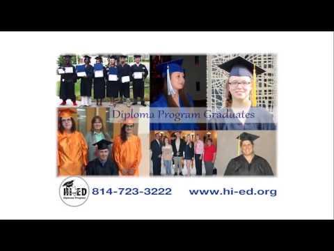 Hi-Ed High School Diploma Program in Northwestern Pennsylvania