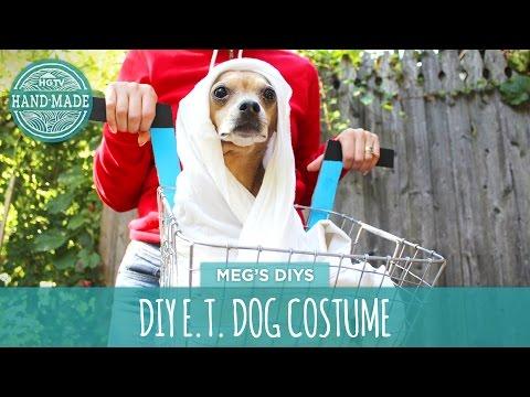 DIY E.T. Dog Costume
