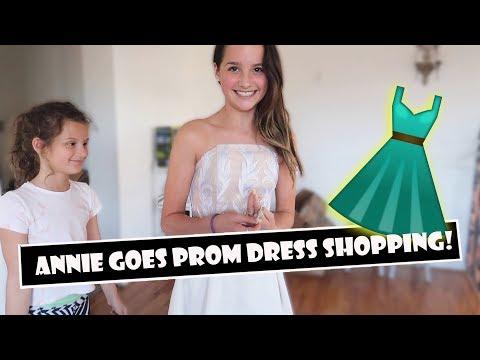 Xxx Mp4 Annie Goes Prom Dress Shopping 👗 WK 383 3 Bratayley 3gp Sex