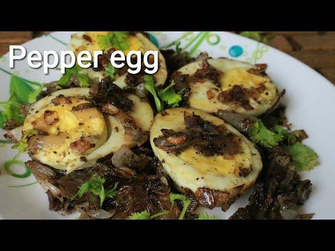 Egg pepper fry - Egg recipe - Easy egg recipes - Quick egg fry recipe
