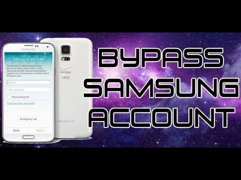 UNLOCK SAMSUNG ACCOUNT GALAXY S5/NOTE4/NOTE5 BYPASS ACCOUNT V6.0.1