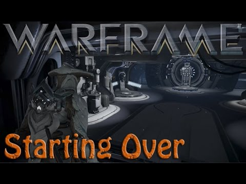 Warframe - Deleting & Starting Over