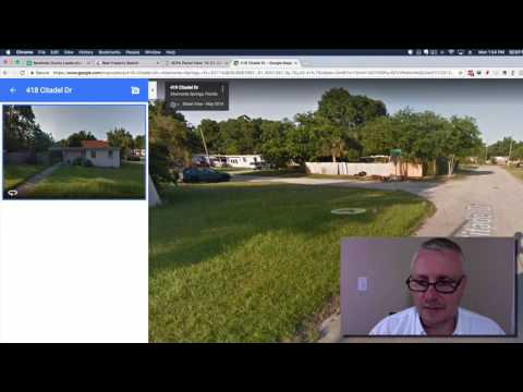 Finding The Owner of Vacant Properties