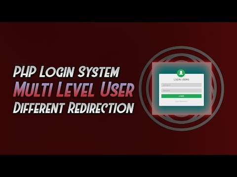 Cara Membuat Sistem Login PHP Multi Level User, Redirection, Privileges