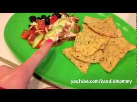 Quick 7-Layer Bean Dip