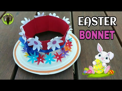 Easter Bonnet Hat for Easter parade - DIY Tutorial - 898