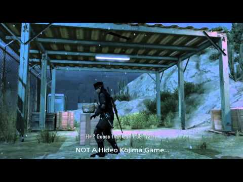 [SPOILERS]  MGS V: Did Kojima try to warn us?