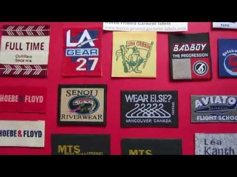 Taffeta Woven Labels for Clothing, Woven Labels UK Supplier, Affordable Designer Clothing Labels