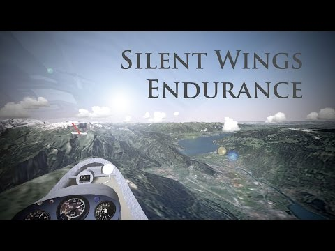 Silent Wings: 1,321 km Endurance Soaring Sim Flight