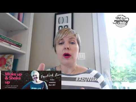 Wake Up & Shake Up - 5 mins of motivation for Mamapreneurs #2