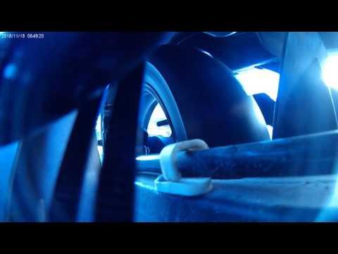 Suzuki DL 650 rear shock test