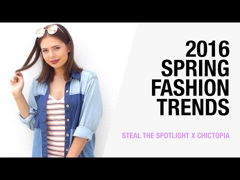 2016 Spring Fashion Trends - Stripes, Off the Shoulder, Suede | Steal the Spotlight x Chictopia