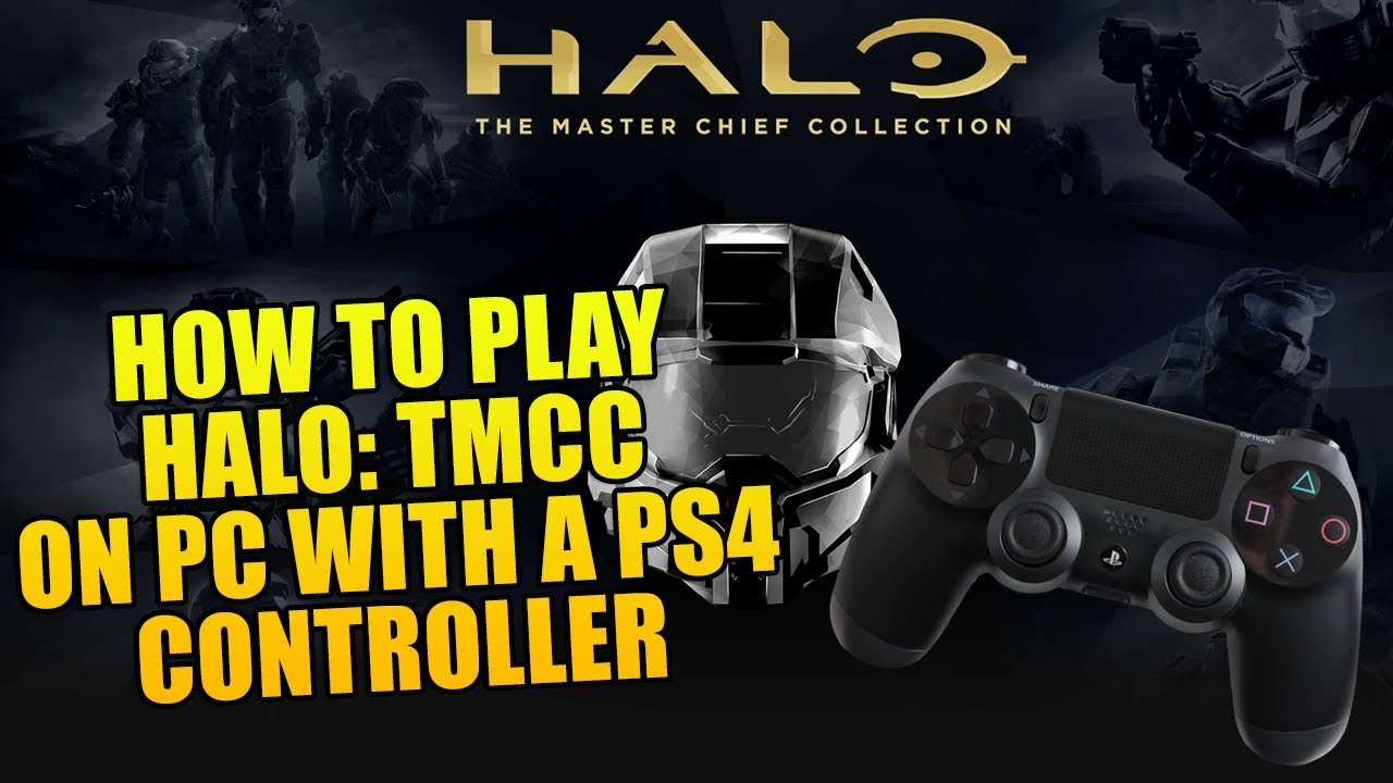 How to Use A PS4 Controller on Halo: The Master Chief Collection on PC!