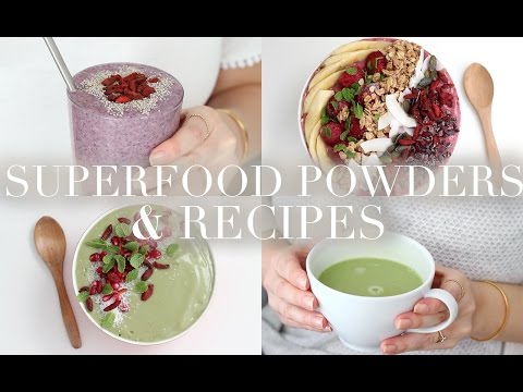 Superfood Powder Favourites & Recipes (Vegan/Plant-based) | JessBeautician
