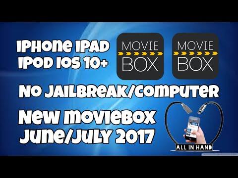 New MovieBox iOS 10+ iPhone iPad iPod iOS 10.3.2