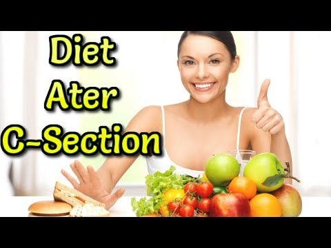 Foods You Can Eat After C-Section. Diet plan for cesarean Mother. #NaturalRemedies
