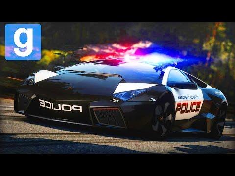 Полицейска гонка | Garry's Mod