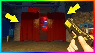 GTA 5 - WHAT IS BEHIND THE SECRET BUNKER DOOR IN GTA ONLINE?