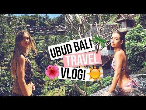UBUD BALI TRAVEL VLOG + Villa Tour | Asha Tregear