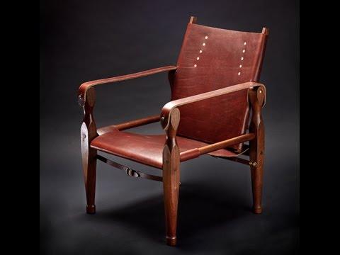 Chris Schwarz' Campaign Chair - Pared Down!