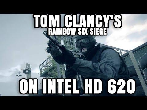 Tom Clancy's Rainbow Six Siege ON Intel HD 620 Graphics Core i5 7200U