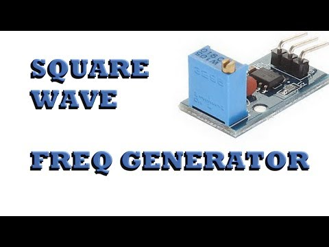Square Wave Freq Generator overview: Power Feed \ CNC project, Pt. 2