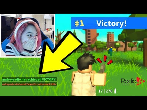 Roblox ISLAND ROYALE FORTNITE VICTORY In First Round Ever?!?