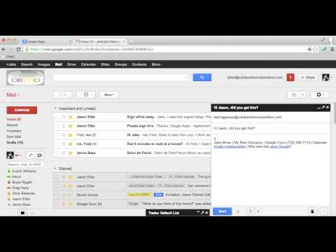 Distribution List Creation Using Google Apps