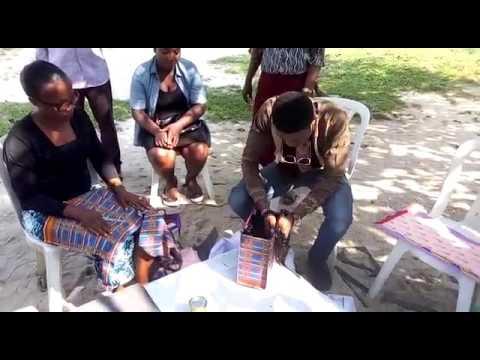 MrGlorious Productions presents Ankara Bag Making