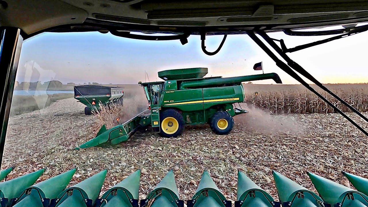 2020 Corn Harvest Pushes On. #15