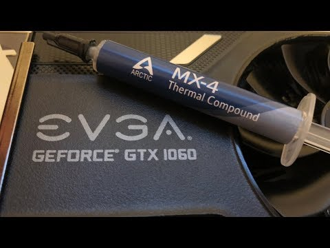 How to Replace the Thermal Paste on a Graphics Card