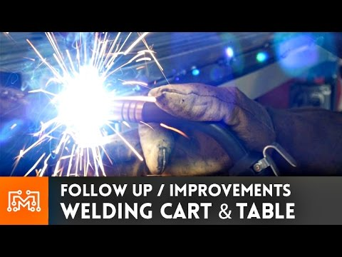 Welding Cart Revisited // How-To