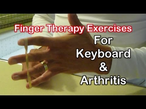 Finger Therapy Exercises: Finger Exercises for the Keyboard & Arthritis