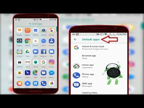 How to Change Default Application in Android Oreo 2018