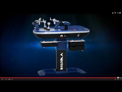 VICTOR VE-80 Stringing Machine -- An industrial revolution in stringing