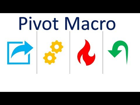 How to create a simple Pivot Macro in Excel?