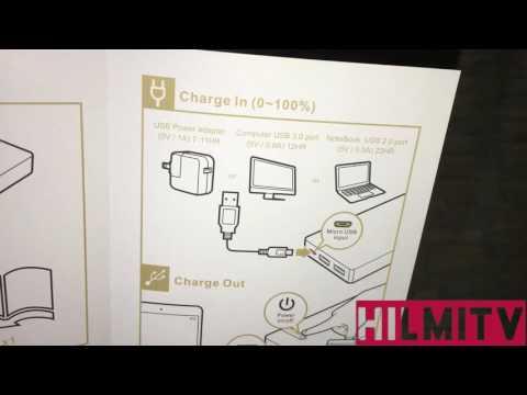 LUXA2 EnerG Slim 10000mAh PowerBank [Unboxing]