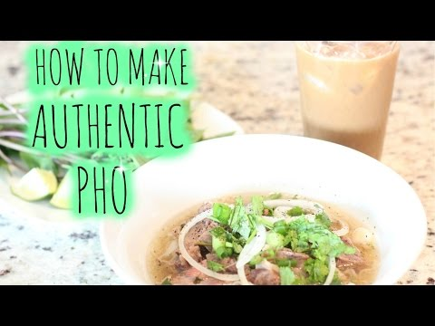 How to make Authentic Pho | Vietnamese Beef Broth | Traditional Healthy