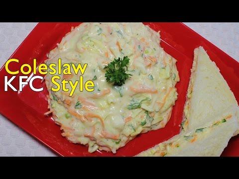 Coleslaw Recipe KFC Style | Sandwich Ideas for Kids | Easy Salad Dressing | Kanak's Kitchen