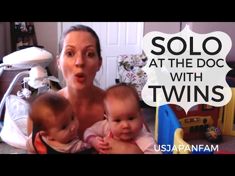 How to Handle Baby Twins at Doctor Visits