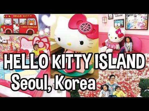 Hello Kitty Island at Namsan Tower in Seoul Korea