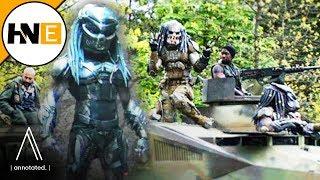 THE PREDATOR Friendly Predator Emissaries Deleted Scene Explained