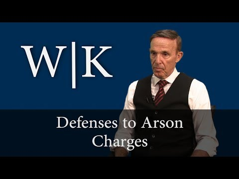 Defenses to Arson Charges in California